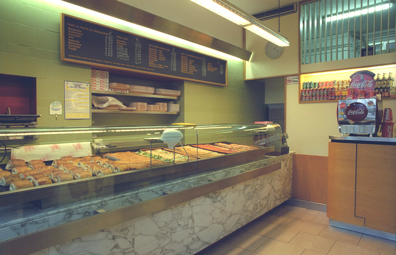 D 39 alessio pandolfi architetti ancona for Arredamenti pizzerie al taglio